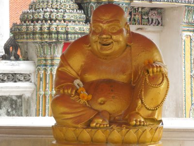 Fat and happy Buddha