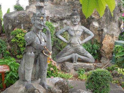 Fantastic statues at Wat Pho