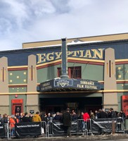 The famous Egyptian Theatre