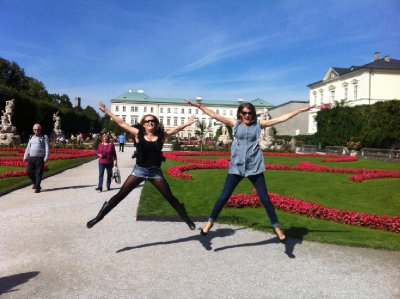 It all starts with 'typical' Salzburg