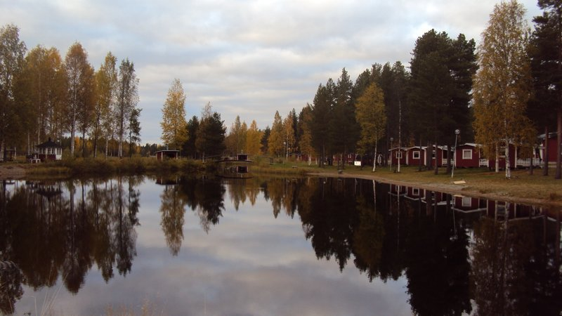 My current 'home' in Northern Sweden