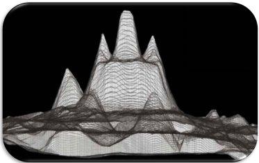 3D radar image of the La Danta structure (Mirador Basin Project, 2006