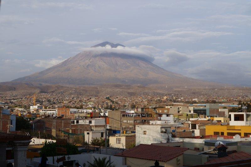 The volcano El Misti