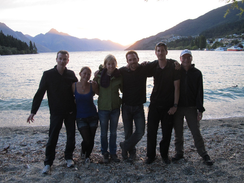 Our group in Queenstown