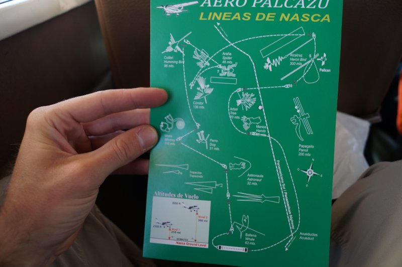 The flight map
