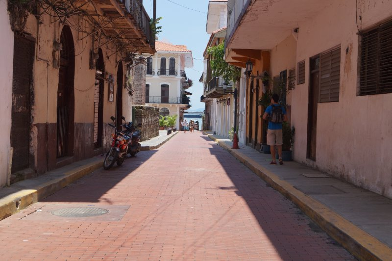 Little streets in the old Panama