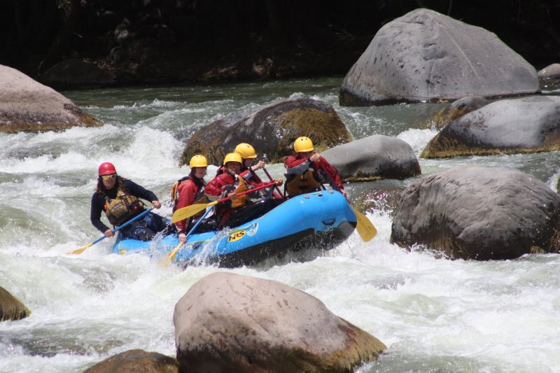 First time doing rafting in my life, it's quite fun!