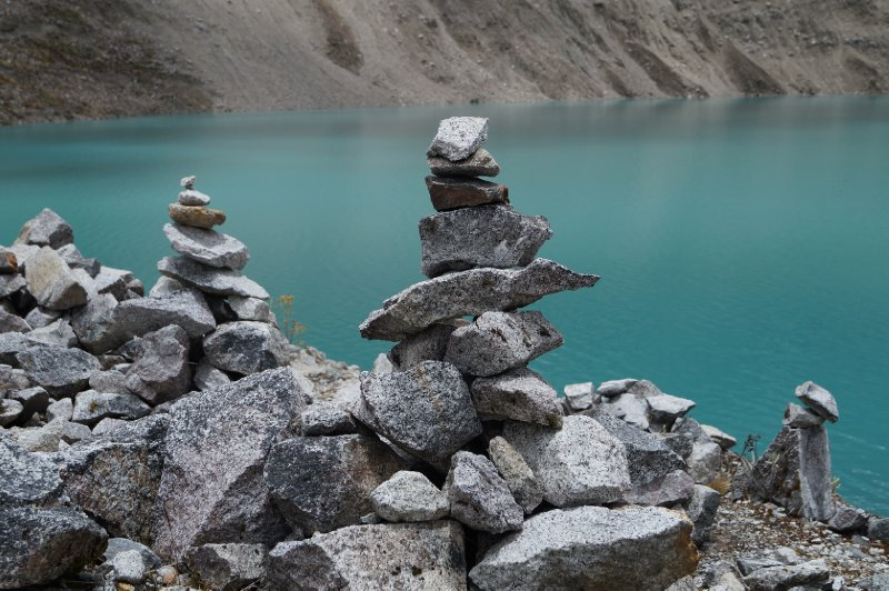 My contribution to this trail, a little cairn