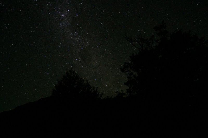 Couldn't do a trek without taking at least one shot from the stars!