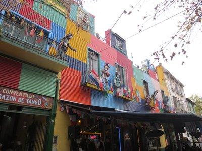 colours of La Boca