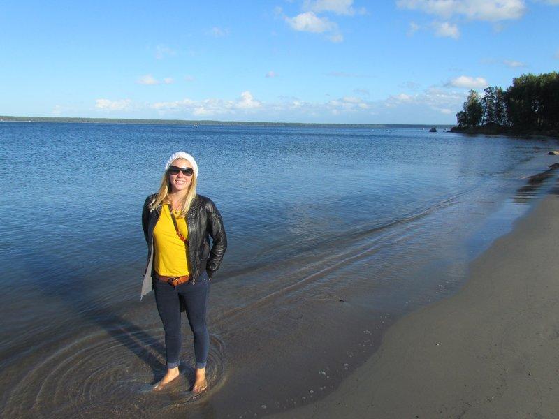 lahemaa national park on the coast