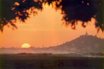 Mandalay Sagaing Irrawaddy Pagodas