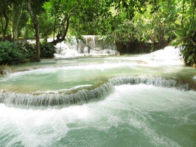 Organic waterfalls