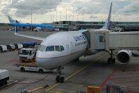 The plane - een Boeing 757