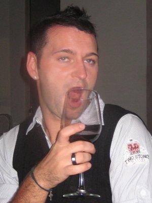 Damian - drinking again!