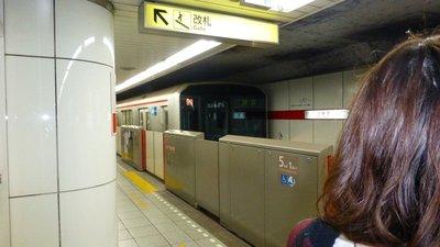 Tokyo metro doors closed