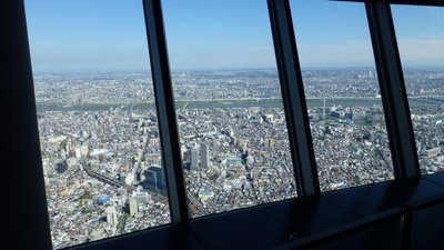 View Tokyo from Skytree