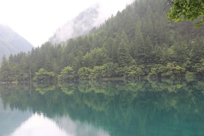 Mirror Lake in Jiuzhaigou National Park