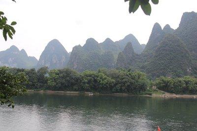 Mountains near Guanyan Caves