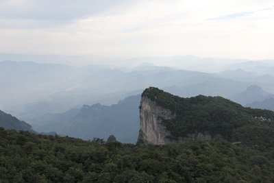 View from top of Tianmen Mountain