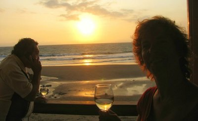 Sunset drinks in San Clemente1~2