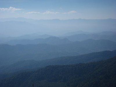 Hills Outside of Chiang Mai