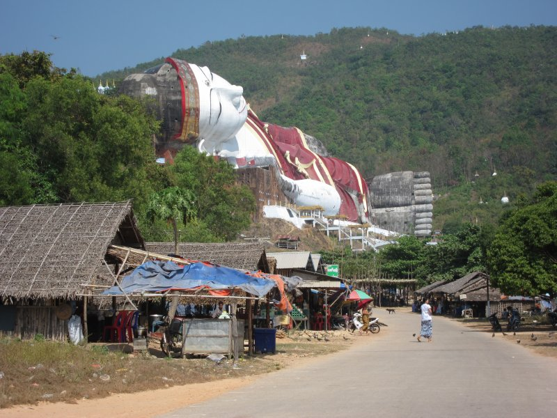 The Biggest Reclining Buddha in the World