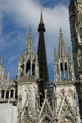 Rouen Cathedral Spires