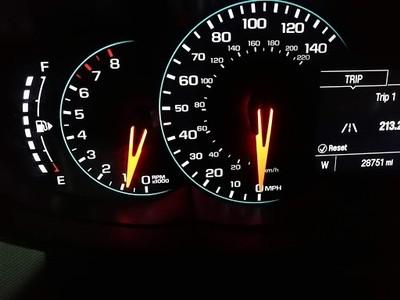 End mileage