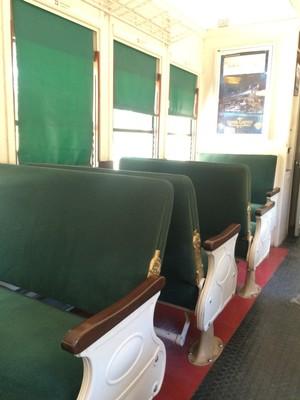 Grand Canyon Railway Seats