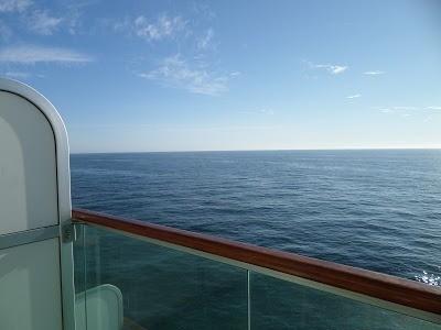 I saw the sea....
