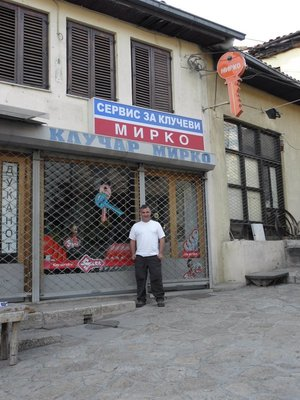 Lockshop in Skopje