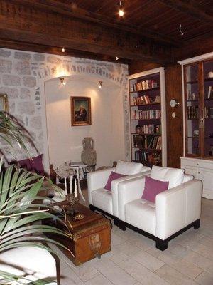 Library at the Palazzo Radomiri
