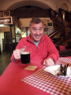 Beer tasting at Eggenberg Brewery
