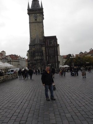 Todd in Old Town Square