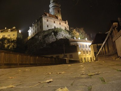 Cesky Krumlov at Night