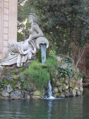 pond, Villa Borghese park