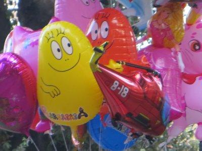 balloons, Villa Borghese park