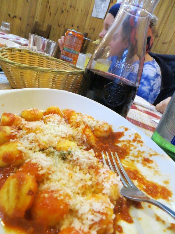 thanksgiving dinner 2012, Rome