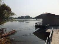 Our raft guest house on the River Kwai