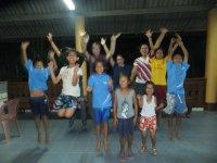 Safari Volunteer- Teaching English to the staff and children