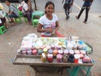 Betel Leaves stall Yangon
