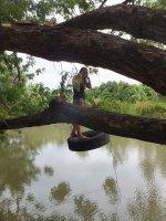 Fun in the river - Safari Volunteer