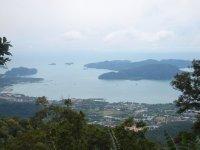 View from Gunung Raya Langkawi