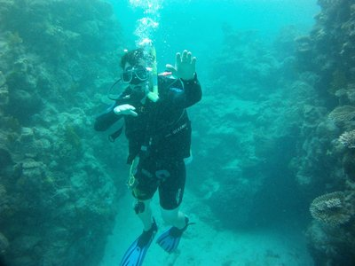 Getting more control of my buoyancy now