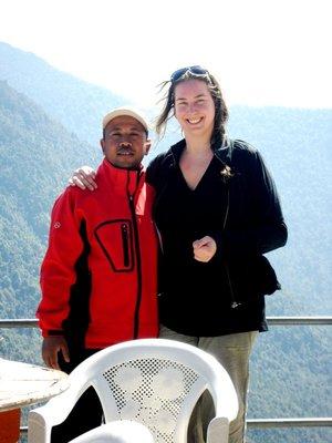Shyam Shahi at Trekking