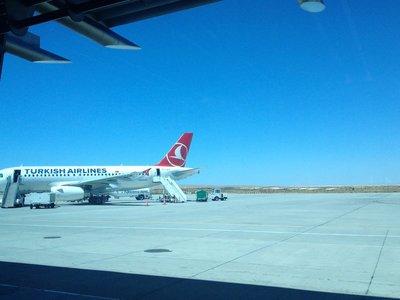 Arrived at Sanliurfa Airport!