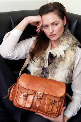 Leather Camera Style Bag