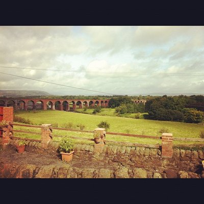 The Ribble Viaduct