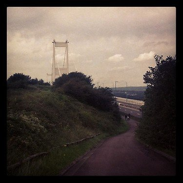 Bridge over the river Severn